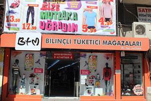 BTM Gaziosmanpaşa Mağazası
