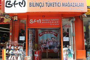 BTM Levent Mağazası